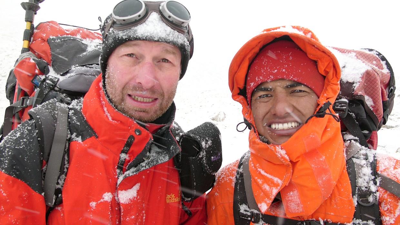 Shiva Shresta und Dieter Glogowski